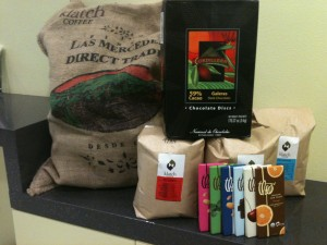 Fair Trade items at the University of Redlands