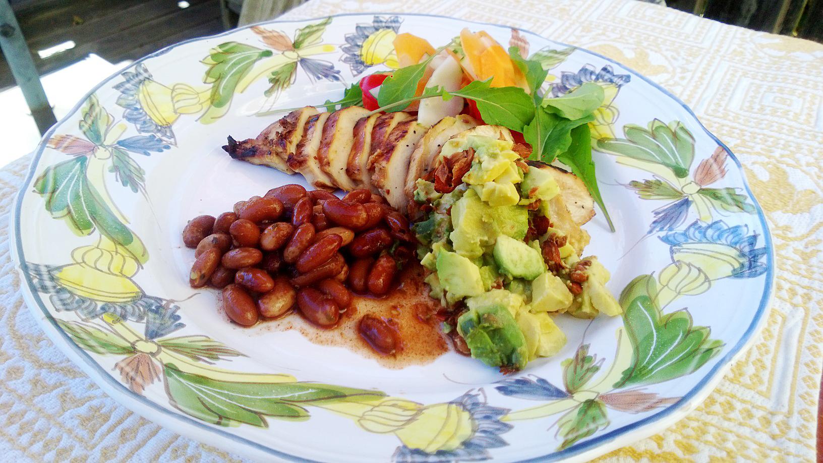 HOney Lime Chicken Meal Plate 2 adj