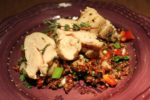 chix quinoa adj