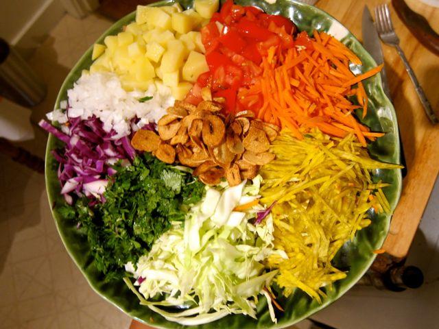 Mandalay Salad