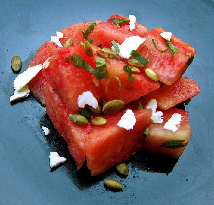 watermelon adj