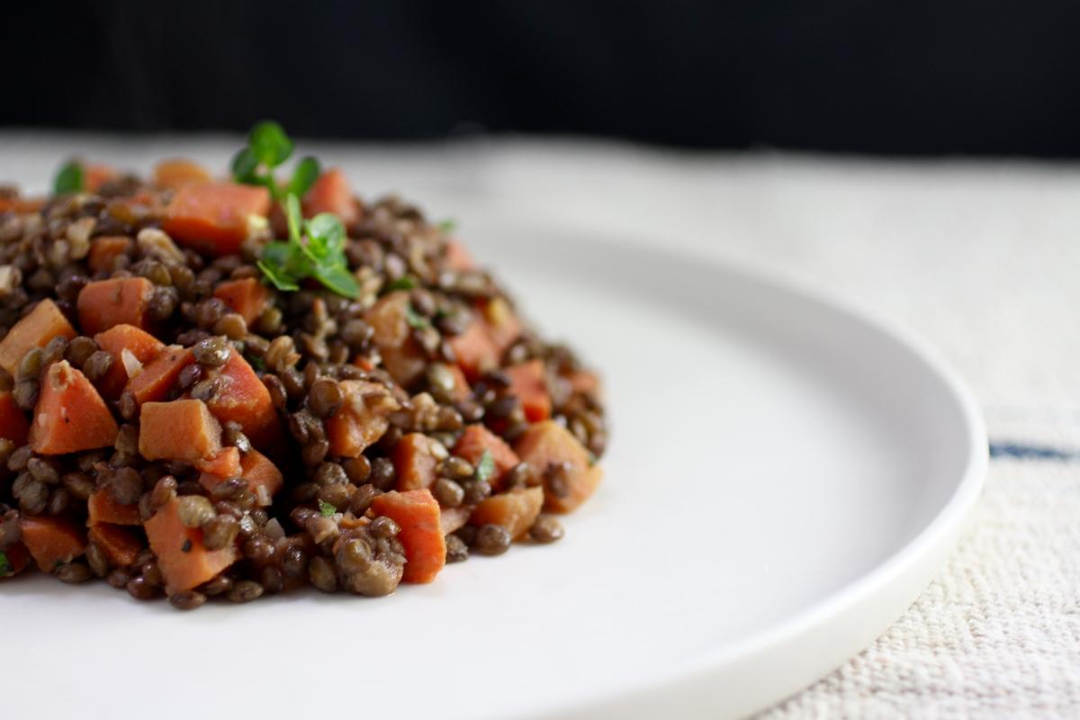 bistro lentil salad