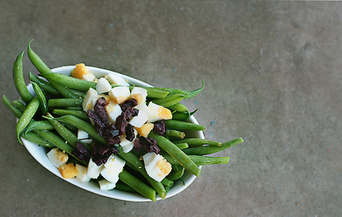 Cheryl Rule – Green Beans with Olives and Eggs