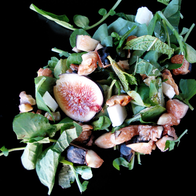 Fig and Cress Salad