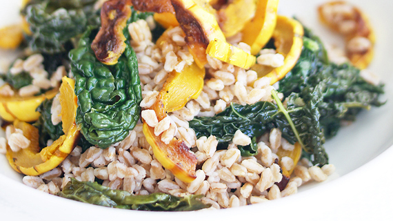 Cheryl-Rule-Farro-with-roasted-delicata-squash-kale-and-sherry-vinegar-orig_570y320