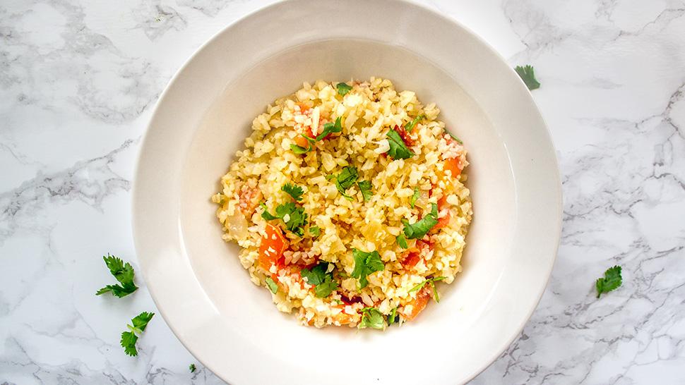 spanish cauliflower rice