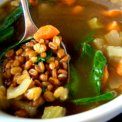 Cumin-Scented-Wheat-Berry-and-Lentil-Soup_400y400