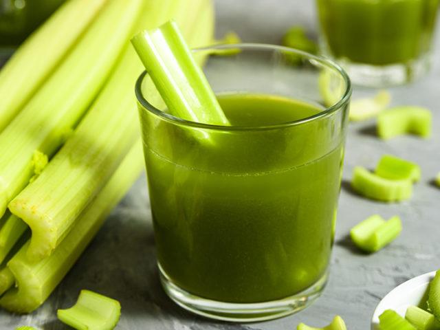 Celery Healthy Green Juice